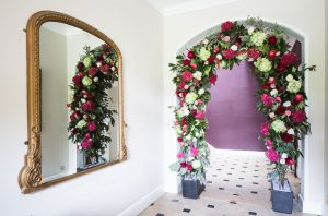 wedding retreat arch